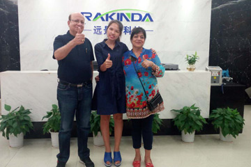 India's Ahuja tablet large project using Rakinda readers